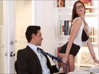 Big tits Brooklyns titty fuck and sex in the office wit