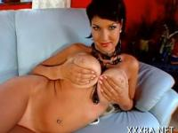Wanton darling needs a pecker