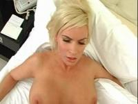 Arousing blonde mommy having the fuck of her lifetime