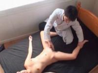 Japanese sweet horny babe cunt tickled in a hot forepla