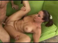 Horny mature lady loves younger cock