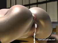Hentai cutie with glasses fucked hard