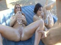 Courtney Cummz Juelz Ventura Sophie Dee Oil Overload 3