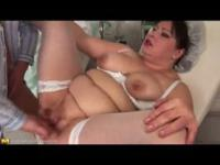 fat nurse takes it in the ass