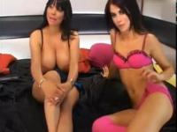 Charmaine Sinclair and Megan Coxxx Feet