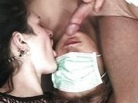Medical bisexual threesome fucking