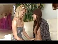Stepmother seducing a daughter