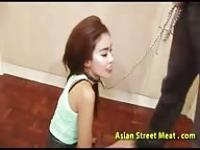 Punishing an Asian whore