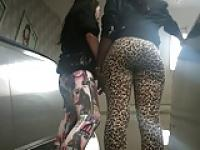 Candid Leopard Spandex Booty