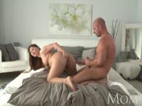 Mature brunette wants her man to cum inside