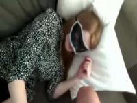 Creampied this blindfolded slut