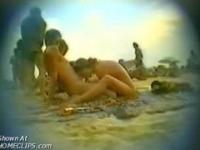 Hiddem cam at nudist beach