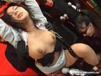 Jap woman teased with multiple hitatchi magic wands