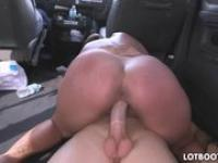 Dick ass Skyler Luv fucking in bus.