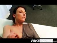 Fake Hospital - Brunette with a vibrator