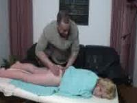 Dutch blonde gets a massage part 2