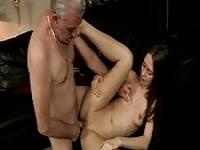 Fucked by her grandpa