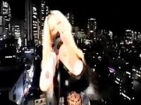 SABRINA SABROK  HOT PUNK SINGER WITH BIGGEST BREAST