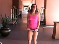 Misty Anderson Heads to the Park to get into Trouble