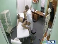 Horny Doctor, Wet Patient