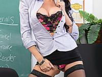 Hot and Naughty Professor gets fucked by her Favorite Student