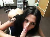 Hot college blowjob taped