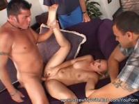 Hubby Watches Wife Fuck Another Guy
