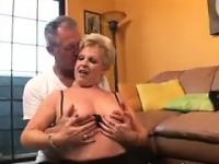 Chubby Blonde Grandma Wants To Bang
