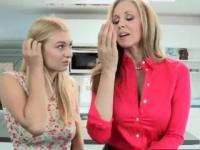 Natalie and Julia Ann went wild on his dick