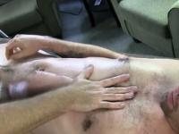 Straight amateur en transe de massage gay