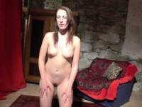 Horny czech GF does gorgeous lapdance