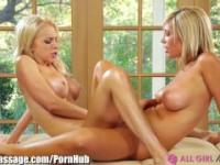AllGirlMassage MILF gives Tribbing Therapy