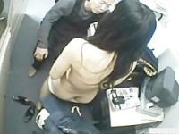Handy camera fucking a shoplifting girl
