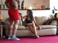 Ebony Whore Captured On A Hidden Camera Shoved By A Bbc black ebony cumsho