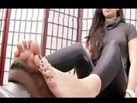 Pakistani Begum Foot Worship by Big Black Dravidian South Indian