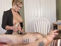 Jerking Off - Touching Therapist