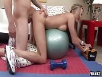 Bent Over And Banged As A Workout