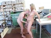 Chubby Blonde German Mature