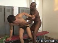 Christian Mohr Gets JockStrap Humiliation From Ebony Dilf Karsin Knightly