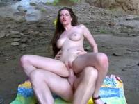 Busty Candian babe's secret pleasure cave