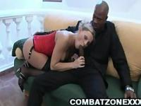MILF Euro Patricia Butt Plugged By Big Black Dick