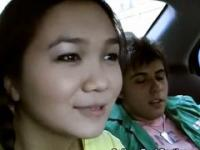 Asian Fucked in Car!!