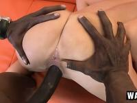 Pressley Carter goes black and gets pumped by a huge dick and face creamed