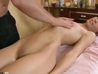 massaging russian milf and then fuck