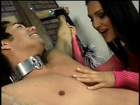 His gorgeous domme treats him like shit and it makes him so damn happy