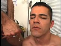 Slender twink gets down at an office with an older man for money