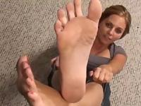 JOI at Kara dirty feet