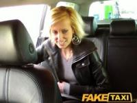 FakeTaxi Bonde gets tricked into taxi blowjob