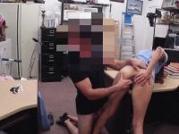 Dirty Nurse Getting Fucked On Desk In Pawn Shop Office