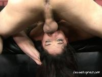 Slut Sheena Welcomes Dick Into Her Throat
